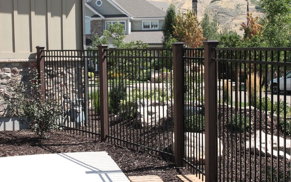 Trex Posts With IronGuard Fence