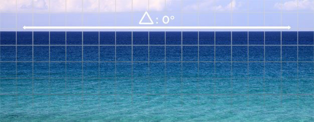 Horizontal lines occur naturally in nature like the horizon on the ocean.