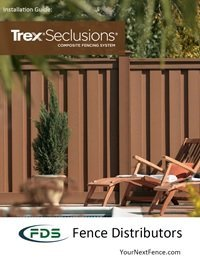 Image of front cover for the Trex Seclusions installation guide