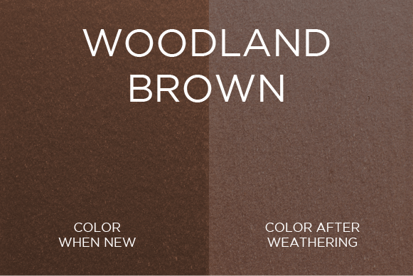Trex Woodland Brown Color