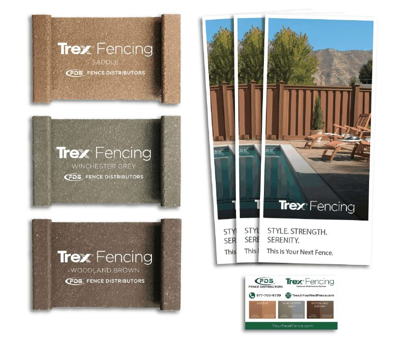 Trex Fencing Sample Package