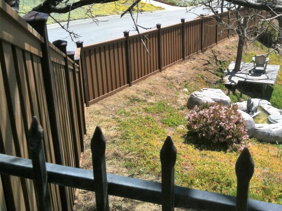 Before & After Fence Installation in Chino Hills, CA
