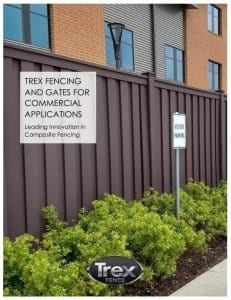 Picture of the cover to the Trex Fencing Architect's Booklet