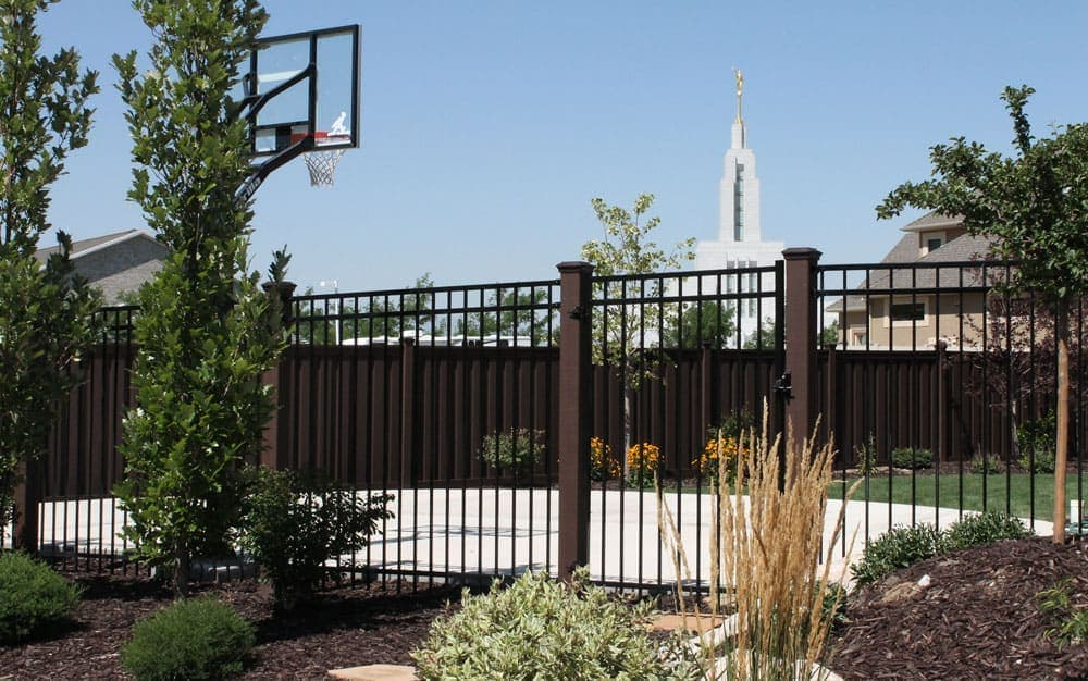 Trex Fence With IronGuard