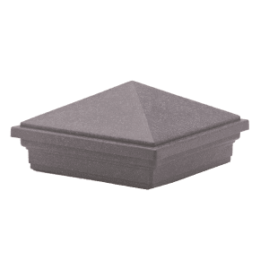 Trex_Post_Cap-Pyramid-Grey