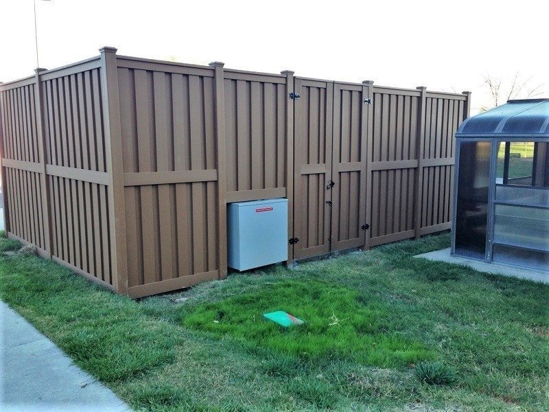 A Utility enclosure for the Grand Junction VA Medical Center
