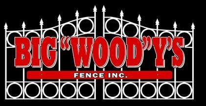 The logo for Big Woody's Fence