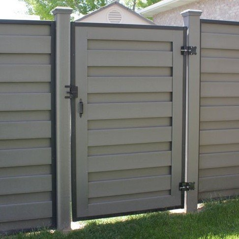 A Winchester Grey Horizons Fence Gate