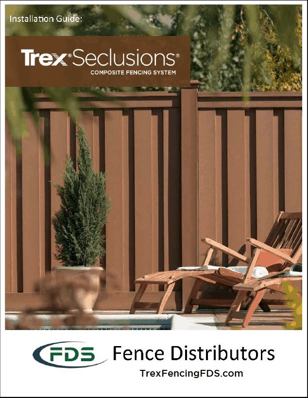 Trex Seclusions Installation Guide Front Cover