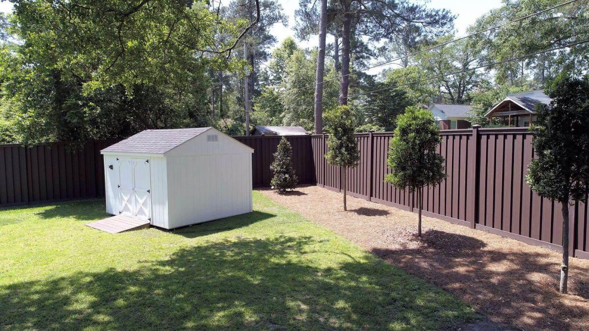 Trex Fencing from Lowe's Columbia SC