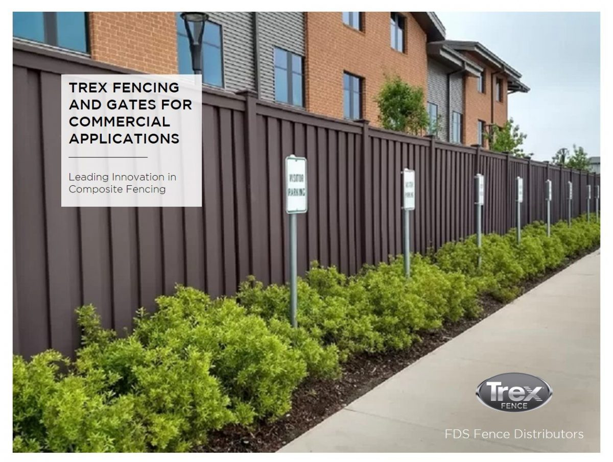 Cover to Architects Booklet for Trex Fencing