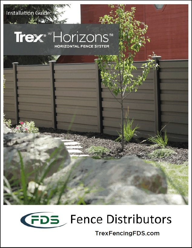 Trex Horizons Installation Guide Front Cover