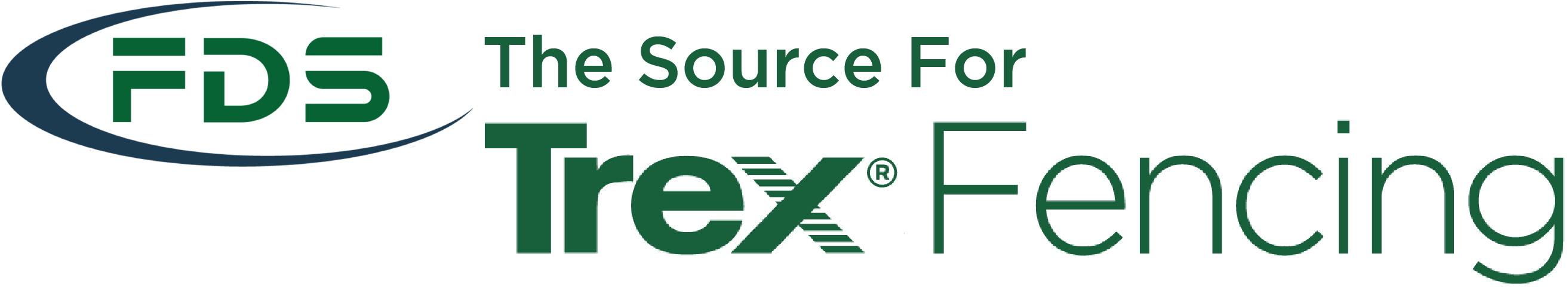 FDS, the Source for Trex Fencing logo
